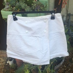 Urban Outfitters -LUX -wrap around snap miniskirt